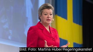 Arbetsmarknadsminister Ylva Johansson (S). Arkivbild.
