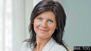 Eva Nordmark, ordförande TCO. Arkivbild.
