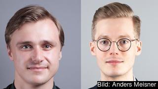 Emanuel Örtengren och Caspien Rehbinder, Timbro.