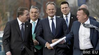 Statsminister Stefan Löfven träffar EU:s övriga ledare på toppmöte i Bryssel 14-15 december.