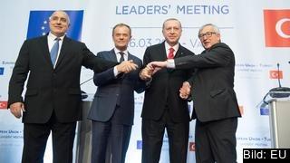 EU:s relation till Turkiet är fortsatt komplicerad efter toppmötet i bulgariska Varna.