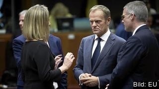 Europeiska rådets ordförande Donald Tusk vill att stats- och regeringscheferna fattar svåra beslut i raka diskussioner.