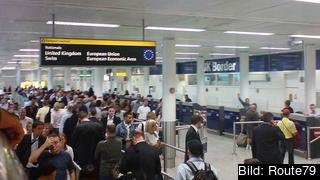 Den brittiske migrationsministern Mark Harper är oense med flera av sina regeringskollegor över faran för en stor migrationsvåg från Rumänien och Bulgarien. Arkivbild.