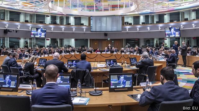 En del av ministerrådens möten är öppna och filmas, men den största delen av förhandlingarna sker bakom lyckta dörrar. Arkivbild.