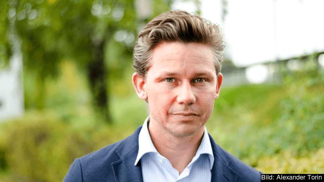 Moderaternas nye europapolitiske talesperson Pål Jonson. Arkivbild.