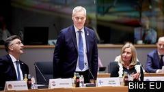 Finlands socialdemokratiske statsminister Antti Rinne vid sitt första EU-toppmöte i förra veckan.