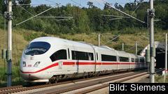 EU-kommissionen säger nej till att bilda en ny europeisk järnvägsjätte på grund av risken för höjda priser på höghastighetståg.