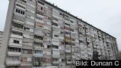 Hyreshus i Zagreb, Kroatien som har störst andel som inte klarar oförutsedda utgifter. Arkivbild.