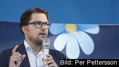 Partiledare Jimmie Åkesson (SD).
