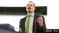 Max Andersson ledamot för Miljöpartiet. Bilden är en arkivbild.