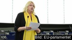 Socialdemokraten Anna Hedh tycker det är upprörande att så få EU-parlamentariker visat intresse för pilotkursen i hantering av trakasserier på arbetsplatsen.