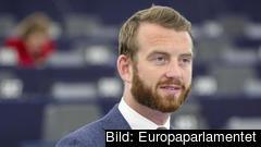 – Detta är en av de grönas större segrar i Europapolitiken, säger Jakop Dalunde (MP). Arkivbild.