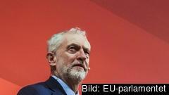Den brittiska oppositionsledaren Jeremy Corbyn. Arkivbild.