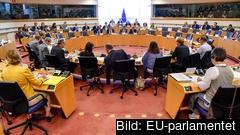 EU-parlamentets talmanskonferens består av talmannen och de politiska partigruppernas ledare. Arkivbild.
