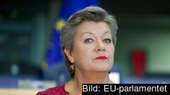 Ylva Johansson måste återkomma med skriftliga svar på Libe-utskottets frågor.