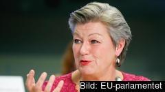 EU:s migrations- och inrikeskommissionär Ylva Johansson. Arkivbild.