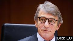 EU-parlamentets talman David Sassoli. Arkivbild.