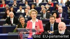 EU-kommissionen under ordförande Ursula von der Leyen är godkänd.