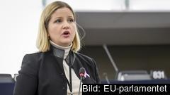 Arba Kokalari (M) var en av tre svenska EU-parlamentariker som deltog i tisdagens debatt. Arkivbild.