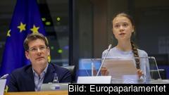 Greta Thunberg kritiserar EU-kommissionens nya klimatlag.