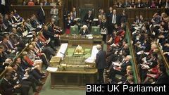 I morgon tisdag återvänder de brittiska ledamöterna efter sommaruppehållet. Parlamentet väntas stängas igen 9 september. Arkivbild.