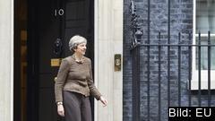I eftermiddag träffas den brittiska regeringen för att antingen godkänna eller avvisa den preliminära uppgörelsen. Arkivbild.
