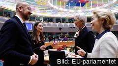 Fyra nya ledare EU under 2019. Arkivbild