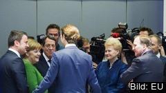 På veckans EU-toppmöte träffas åter medlemsländernas stats- och regeringschefer för att diskutera aktuella frågor. Arkivbild.