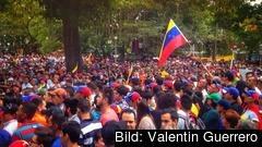 Protester i Venezuela. Arkivbild.