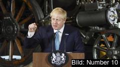 Premiärminister Boris Johnson lovar att Storbritannien ska lämna EU den 31 oktober med eller utan utträdesavtal. Arkivbild.