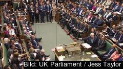 Nedstäningen av det brittiska parlamentet har ogiltigförklarats och väntas snart slå upp dörrarna igen. rkrivbild.