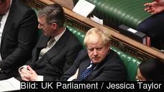 Storbritanniens konservative premiärminister Boris Johnson. Arkivbild.