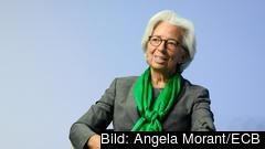 Europeiska centralbankens chef Christine Lagarde. Arkivbild