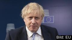 Storbritanniens konservative premiärminister Boris Johnson presenterar inga konkreta förslag för hur en hård gräns på Irland ska undvikas. Arkivbild.