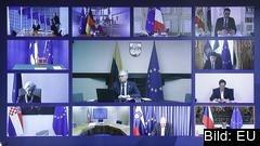 Torsdagens var det fjärde EU-toppmötet på videolänk.