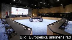 Bara det absolut nödvändigaste diskuteras mellan ministrarna under videokonferenser, och det är kroatiska ordförandeskapet som beslutar vilka möten som hålls.