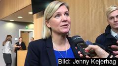 Finansminister Magdalena Andersson är inte villig att gå med på det förslag om digital beskattning som EU-kommissionen lagt fram.