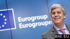 Eurogruppens ordförande Mário Centeno. Arkivbild.