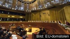 En förhandling i EU-domstolen i Luxemburg. Arkivbild.