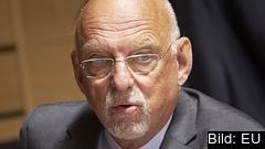 Sveriges nye EU-minister Hans Dahlgren (S) har tidigare varit statsminister Stefan Löfvens närmaste man i EU-frågor. Arkivbild.