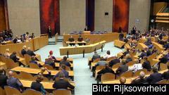 Andra kammaren, eller underhuset, i det nederländska parlamentet. Arkivbild.