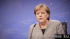 Den tyska förbundskanslern Angela Merkel. Arkivbild.