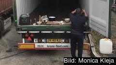 Den nya reglerna syftar till att få undan osund konkurrens och ge bättre villkor till lastbilschaufförer. Arkivbild.