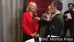 S-politikern Heléne Fritzon siktar på en ny karriär som folkvald i EU-parlamentet.