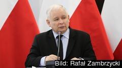 Nationalkonservativa Lag och rättvisas ledare Jarosław Kaczyński. Arkivbild.