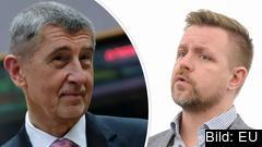 Tjeckiens premiärminister Andrej Babiš vill glömma EU:s klimatmål och kritiseras av Fredrick Federley (C).