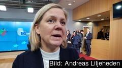 Sverige har tidigare deltagit i euroländernas samtal om fördjupat EMU men på gårdagens möte var finanminister Magdalena Andersson inte med.