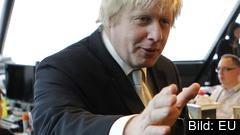 Boris Johnson vill omförhandla utträdesavtalet med EU. Arkivbild.