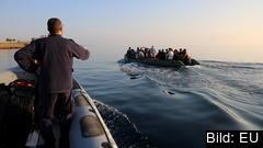 Porugiska CPV, under räddningsoperationen Poseidon 2015. Bilden är en arkivbild.
