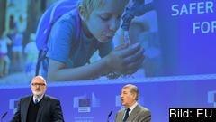 EU-kommissionärer Frans Timmermans och Karmenu Vella.